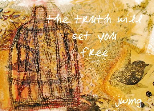 CD truth set free birdcage