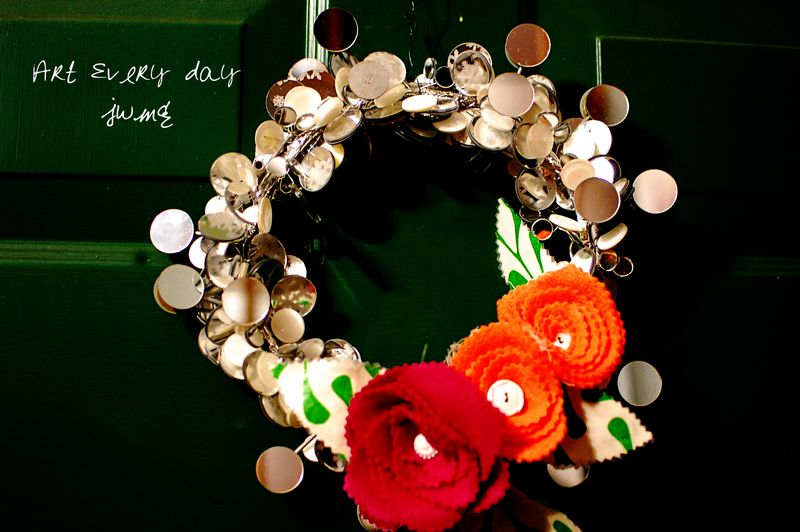 Winter valentines wreath2