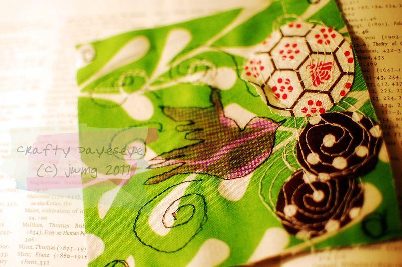 Bird sew patch