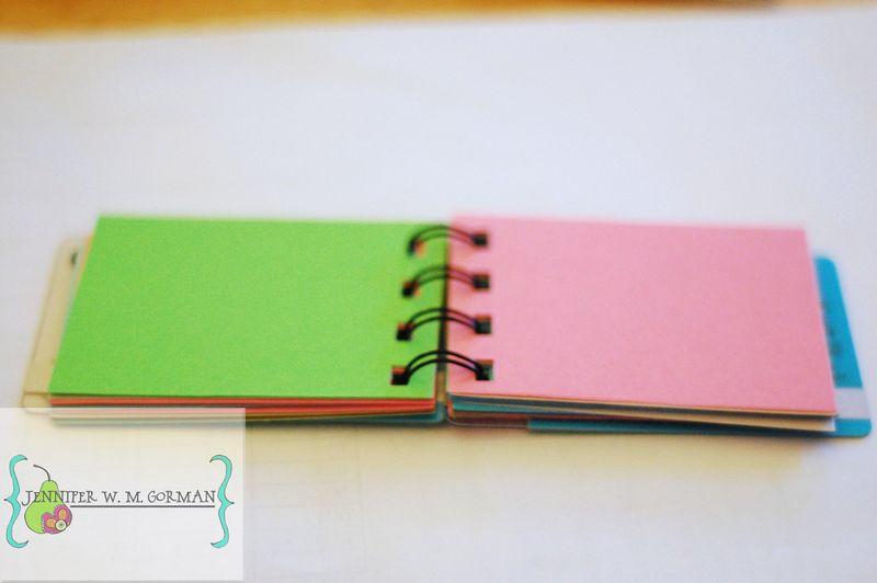 Upcycled mininotebook copy