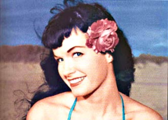 Bettie paige color copy