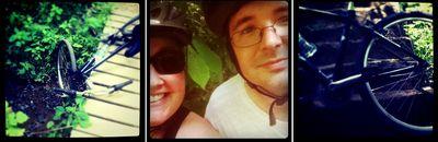 Bike triptich