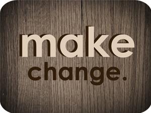 Small make change box