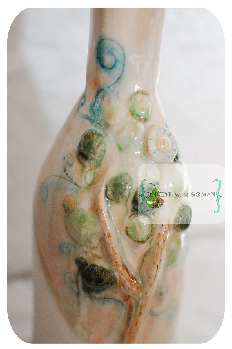 Ceramic bottle 3