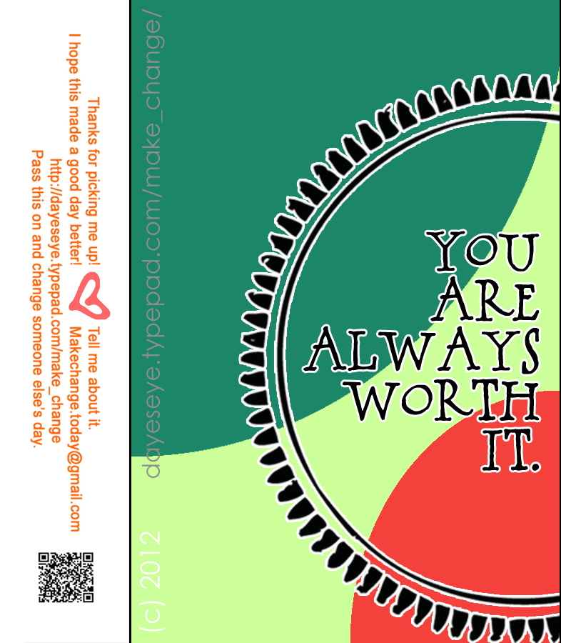 You are always worth it final copy