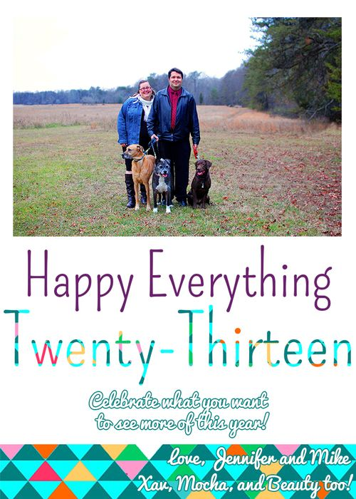 Happy everything card2x4