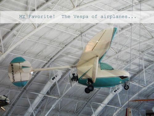 Vespa airplane