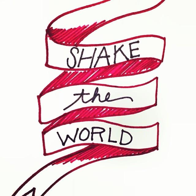 Shake the world gandhi